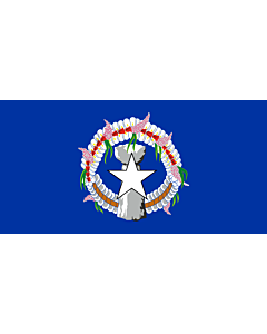 Fahne: Flagge: Nördlichen Marianen