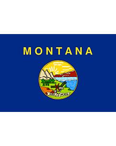 Fahne: Flagge: Montana