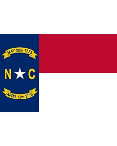 Fahne: Flagge: North Carolina