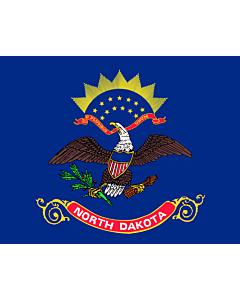 Fahne: Flagge: North Dakota