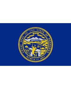 Fahne: Flagge: Nebraska