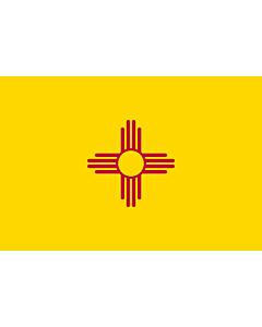 Fahne: Flagge: New Mexico