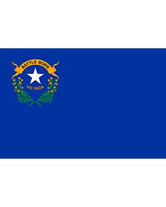 Fahne: Flagge: Nevada