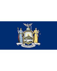 Fahne: Flagge: New York