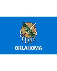 Fahne: Flagge: Oklahoma