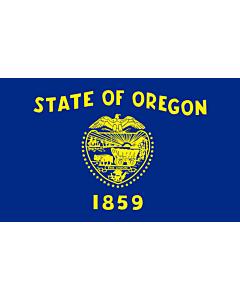 Fahne: Flagge: Oregon