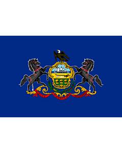 Fahne: Flagge: Pennsylvania