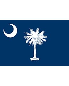 Fahne: Flagge: South Carolina