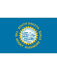 Fahne: Flagge: South Dakota