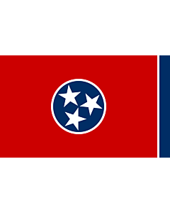 Fahne: Flagge: Tennessee