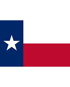 Fahne: Flagge: Texas