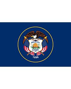 Fahne: Flagge: Utah
