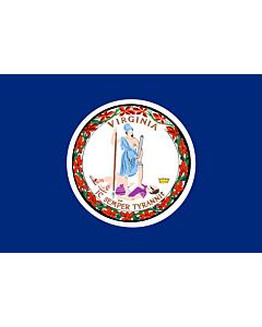 Fahne: Flagge: Virginia