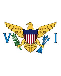Fahne: Flagge: AmerikanischenJungferninseln