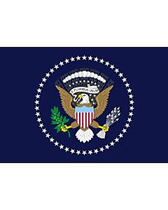 Fahne: Flagge: Präsident der Vereinigten Staaten