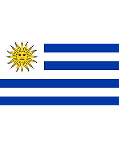 Fahne: Flagge: Uruguay