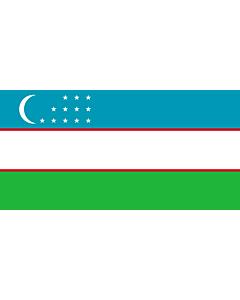 Fahne: Flagge: Usbekistan