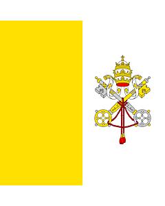 Fahne: Flagge: Vatikanstadt