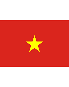 Fahne: Flagge: Vietnam