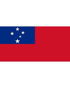 Fahne: Flagge: Samoa