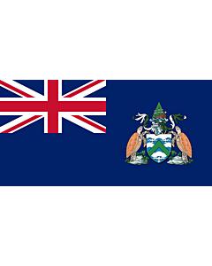 Fahne: Flagge: Ascension Island