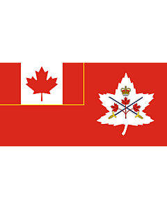 Fahne: Flagge: Canadian Army | Canadian Army, adopted in 14 July 2016