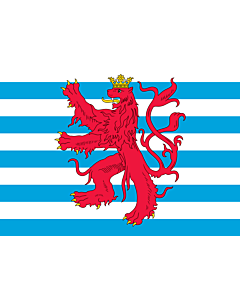 Fahne: Flagge: Civil Ensign of Luxembourg
