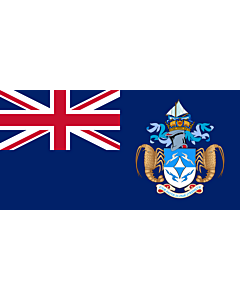 Fahne: Flagge: Tristan da Cunha