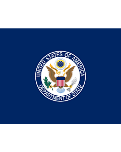 Fahne: Flagge: United States Department of State