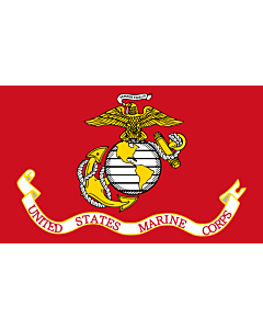 Fahne: Flagge: United States Marine Corps | Image taken from