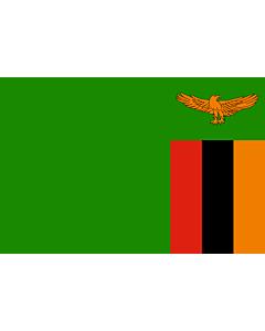 Fahne: Flagge: Sambia