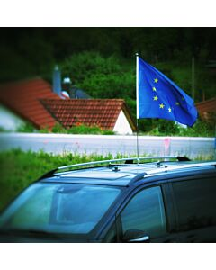magnetisch haftender Autofahnen-Ständer Diplomat-Roof