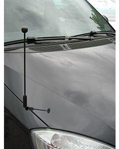 Autoflaggen-Ständer Diplomat-Z-Black