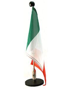 magnetisch haftender Autofahnen-Ständer Diplomat-1.30 Italien